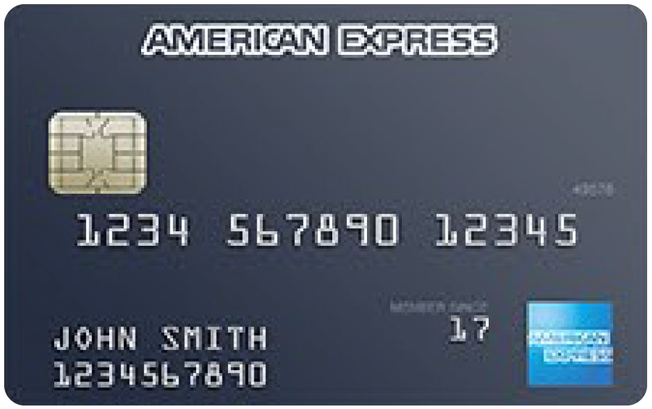 American Express Credit Card Sample