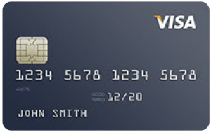 Visa Credit Card Sample